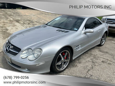 2004 Mercedes-Benz SL-Class for sale at Philip Motors Inc in Snellville GA
