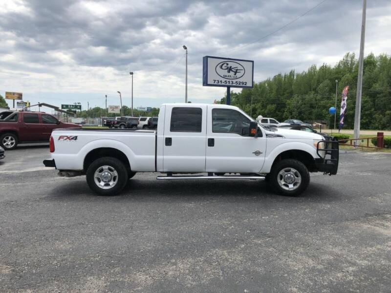 2013 Ford F-250 Super Duty for sale at GKF Sales in Jackson TN
