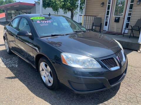2010 Pontiac G6 for sale at G & G Auto Sales in Steubenville OH