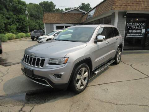 2014 Jeep Grand Cherokee for sale at Millbrook Auto Sales in Duxbury MA