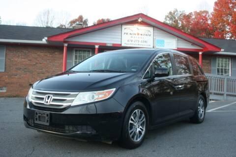 2011 Honda Odyssey for sale at Peach State Motors Inc in Acworth GA