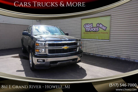 2014 Chevrolet Silverado 1500 for sale at Cars Trucks & More in Howell MI