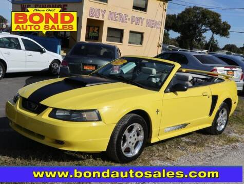 2002 Ford Mustang for sale at Bond Auto Sales in St Petersburg FL