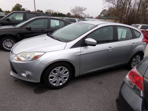 2012 Ford Focus for sale at Creech Auto Sales in Garner NC