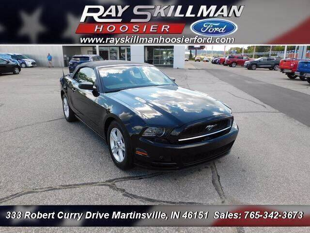2014 Ford Mustang for sale at Ray Skillman Hoosier Ford in Martinsville IN