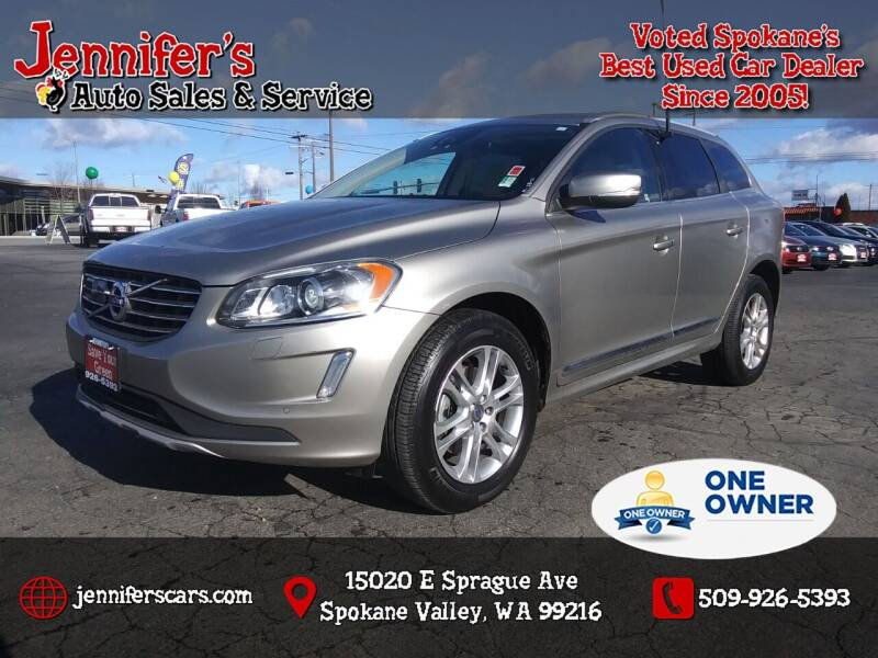2016 Volvo XC60 for sale at Jennifer's Auto Sales in Spokane Valley WA
