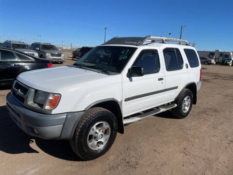 2000 Nissan Xterra for sale at PYRAMID MOTORS - Fountain Lot in Fountain CO