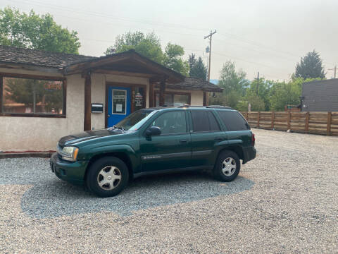 2003 Chevrolet TrailBlazer for sale at Sawtooth Auto Sales in Hailey ID