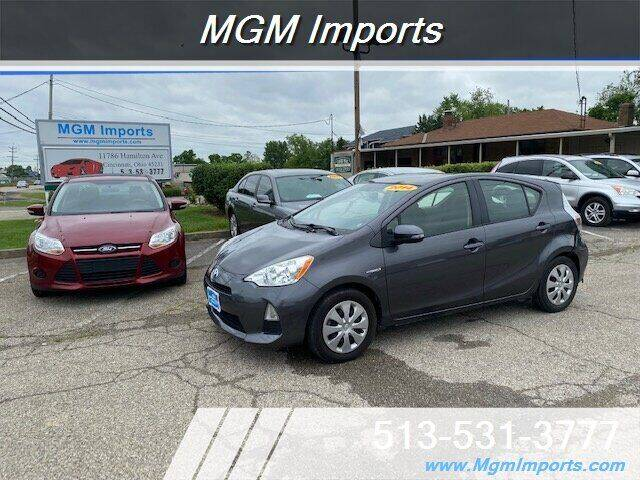 2014 Toyota Prius c for sale at MGM Imports in Cincinnati OH