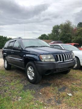 2004 Jeep Grand Cherokee for sale at Car Man Auto in Old Forge PA