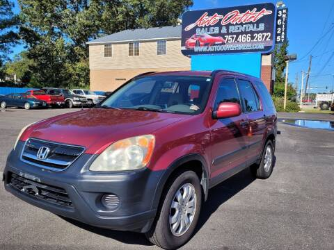 2006 Honda CR-V for sale at Auto Outlet Sales and Rentals in Norfolk VA