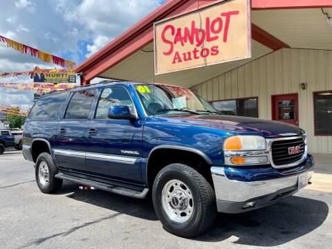 2001 GMC Yukon XL for sale at Sandlot Autos in Tyler TX