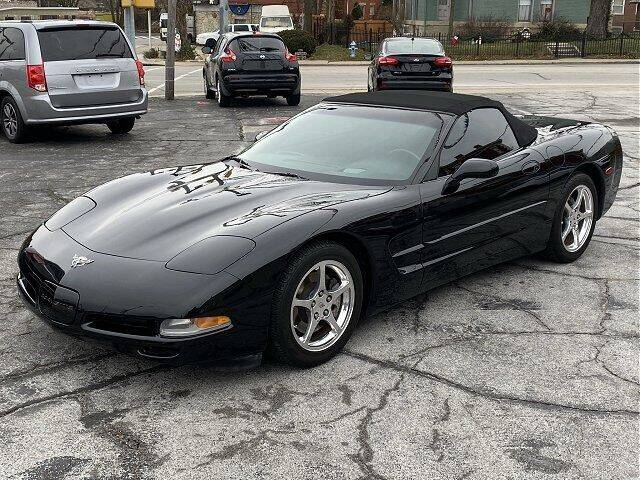2003 Chevrolet Corvette for sale at Sunshine Auto Sales in Huntington IN