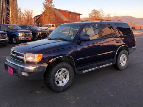 2000 Toyota 4Runner for sale at Snyder Motors Inc in Bozeman MT