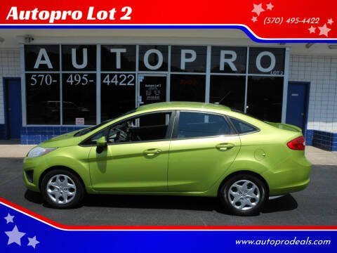 2011 Ford Fiesta for sale at Autopro Lot 2 in Sunbury PA