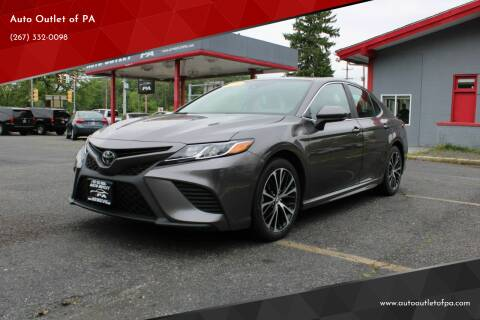 2019 Toyota Camry for sale at Deals N Wheels 306 in Burlington NJ