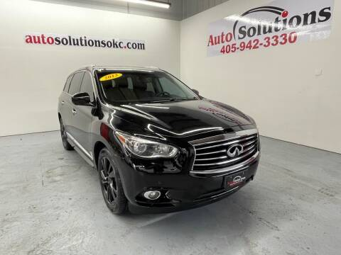 2013 Infiniti JX35 for sale at Auto Solutions in Warr Acres OK