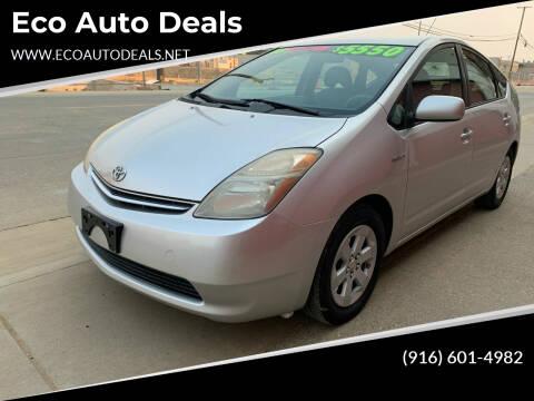2008 Toyota Prius for sale at Eco Auto Deals in Sacramento CA