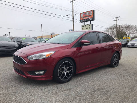 2015 Ford Focus for sale at Autohaus of Greensboro in Greensboro NC