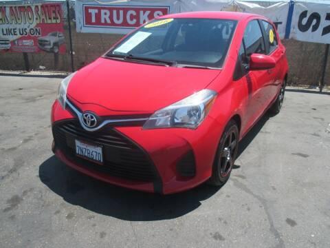 2016 Toyota Yaris for sale at Quick Auto Sales in Modesto CA