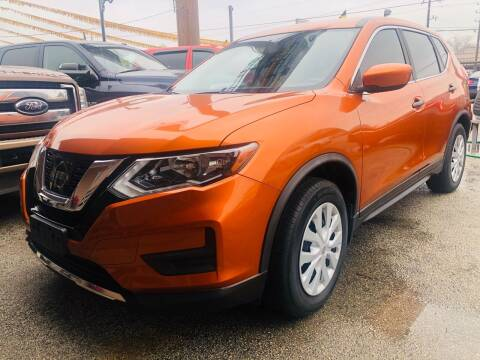2017 Nissan Rogue for sale at Lion Auto Finance in Houston TX