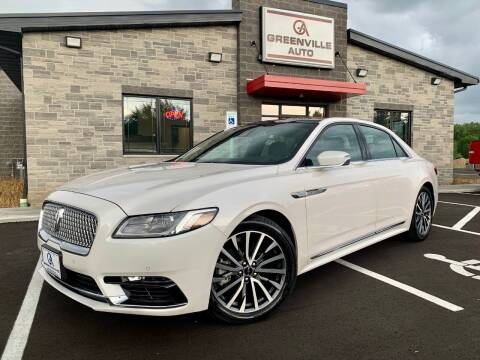 2019 Lincoln Continental for sale at GREENVILLE AUTO in Greenville WI