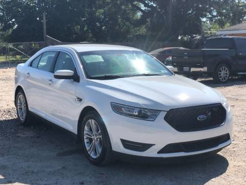 2013 Ford Taurus for sale at Preferable Auto LLC in Houston TX