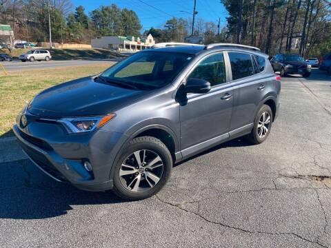 2017 Toyota RAV4 for sale at BRAVA AUTO BROKERS LLC in Clarkston GA
