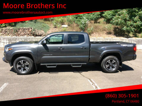 2019 Toyota Tacoma for sale at Moore Brothers Inc in Portland CT