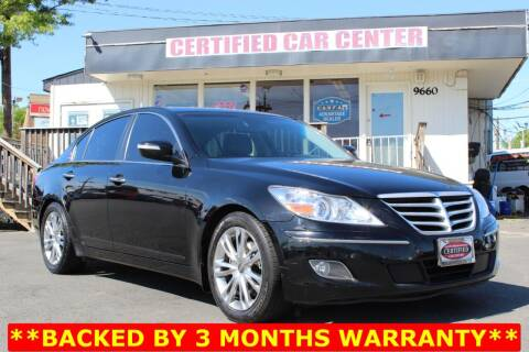 2011 Hyundai Genesis for sale at CERTIFIED CAR CENTER in Fairfax VA