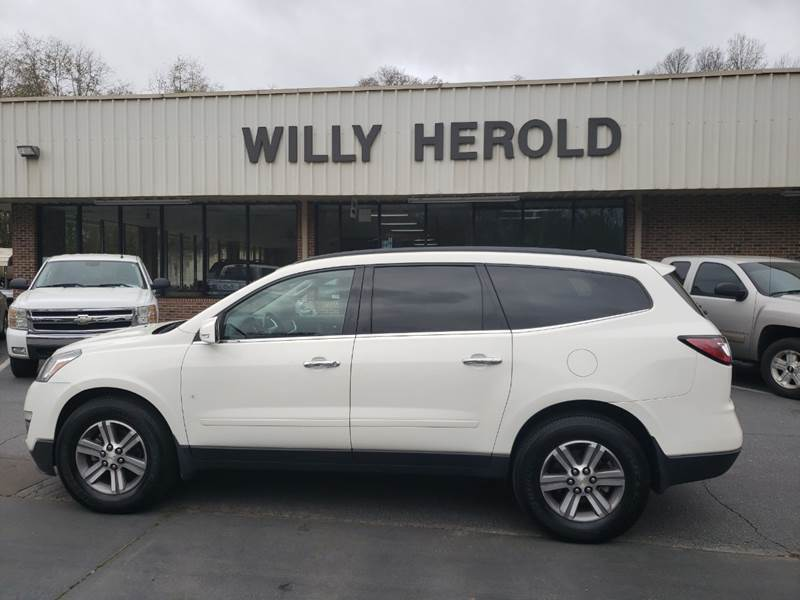 2015 Chevrolet Traverse for sale at Willy Herold Automotive in Columbus GA