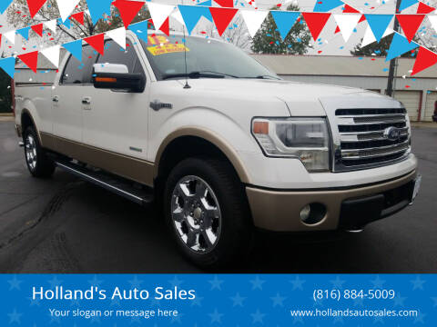 2013 Ford F-150 for sale at Holland's Auto Sales in Harrisonville MO