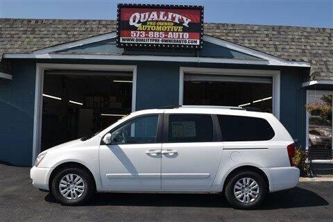 2011 Kia Sedona for sale at Quality Pre-Owned Automotive in Cuba MO