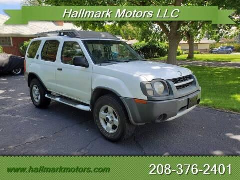 2004 Nissan Xterra for sale at HALLMARK MOTORS LLC in Boise ID