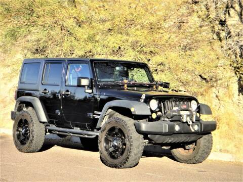 2013 Jeep Wrangler Unlimited for sale at AZGT LLC in Phoenix AZ