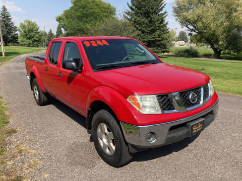 2007 Nissan Frontier for sale at BELOW BOOK AUTO SALES in Idaho Falls ID
