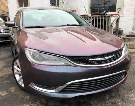 2015 Chrysler 200 for sale at Jeff Auto Sales INC in Chicago IL