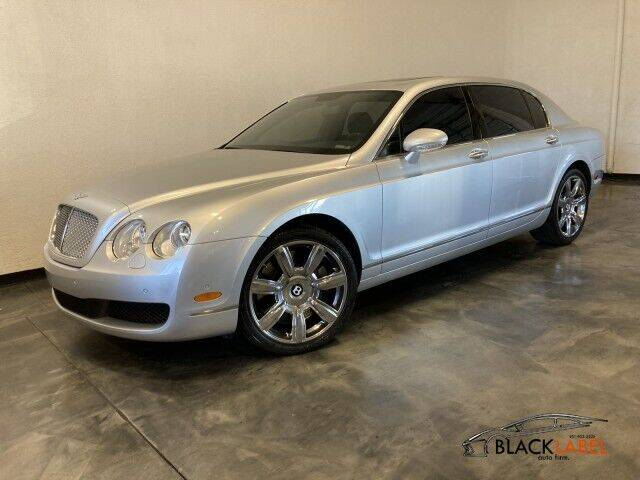 2007 Bentley Continental for sale at BLACK LABEL AUTO FIRM in Riverside CA