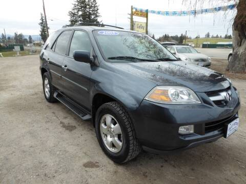2005 Acura MDX for sale at VALLEY MOTORS in Kalispell MT