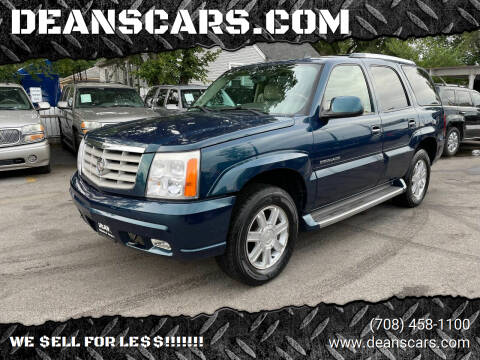 2006 Cadillac Escalade for sale at DEANSCARS.COM in Bridgeview IL