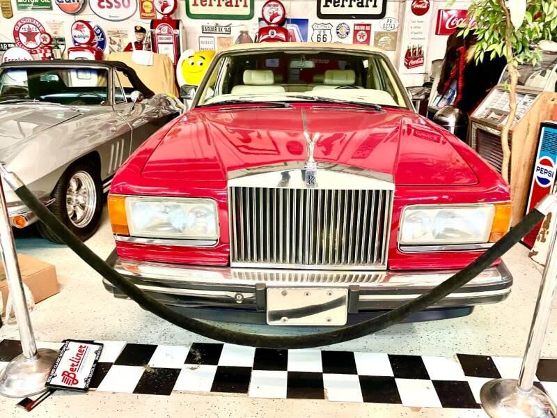 1986 Rolls-Royce Silver Spur for sale at Berliner Classic Motorcars Inc in Dania Beach FL