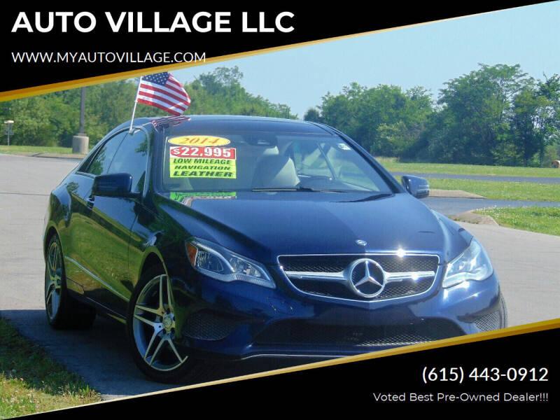 2014 Mercedes-Benz E-Class for sale at AUTO VILLAGE LLC in Lebanon TN