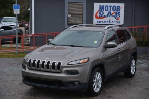 2016 Jeep Cherokee for sale at Motor Car Concepts II - Kirkman Location in Orlando FL