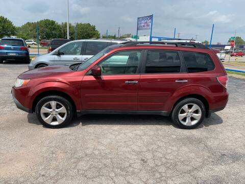 2010 Subaru Forester for sale at Superior Used Cars LLC in Claremore OK