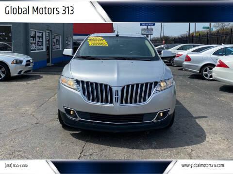 2011 Lincoln MKX for sale at Global Motors 313 in Detroit MI