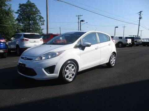 2013 Ford Fiesta for sale at FINAL DRIVE AUTO SALES INC in Shippensburg PA