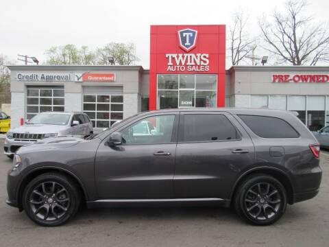 2018 Dodge Durango for sale at Twins Auto Sales Inc in Detroit MI