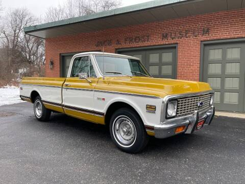 1972 Chevrolet C/K 10 Series for sale at Jack Frost Auto Museum in Washington MI
