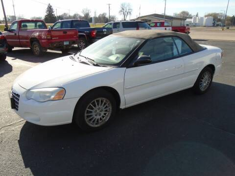 2006 Chrysler Sebring for sale at SWENSON MOTORS in Gaylord MN
