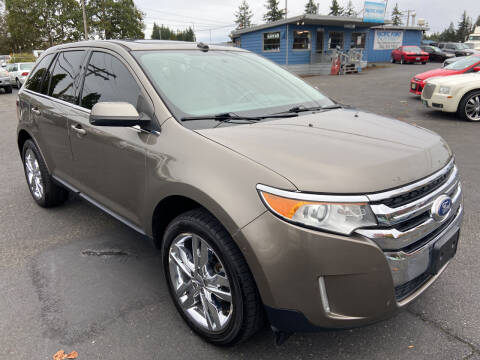 2013 Ford Edge for sale at Pacific Point Auto Sales in Lakewood WA